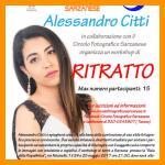 WORKSHOP FOTOGRAFICO DI RITRATTO CON ALESSANDRO CITTI - SARZANA 24-25 MAGGIO 2017